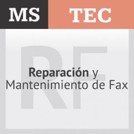 Reparación y Mantenimiento de Fax